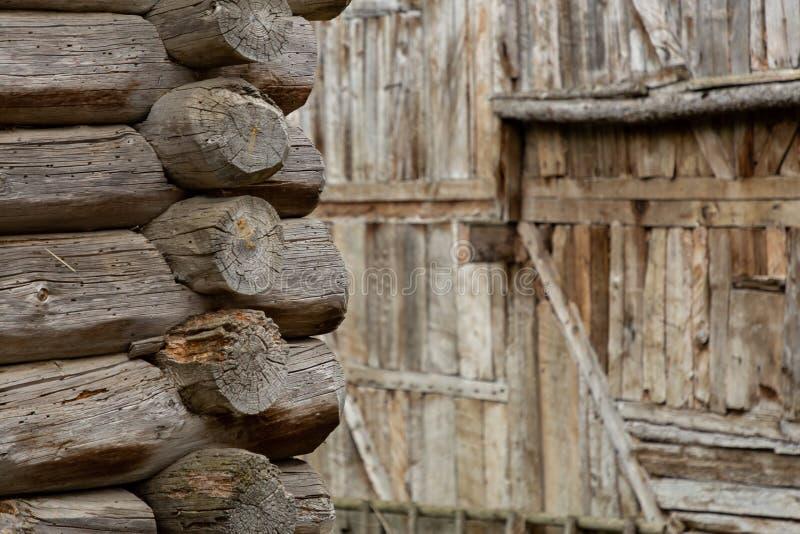 Строя деталь в деревне стоковые изображения