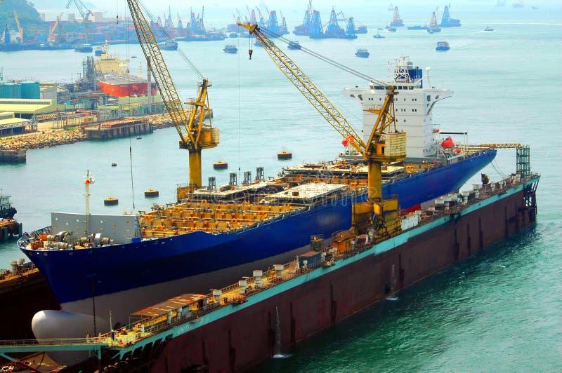 строя корабль стоковые изображения rf