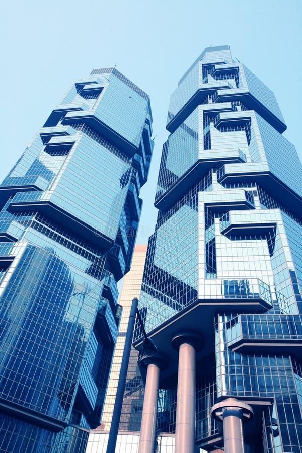 строя корпоративное Hong Kong стоковое фото rf