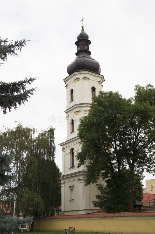 Строя dyyatsezialnoy епархия Pinsk kuriii Беларусь стоковые фотографии rf