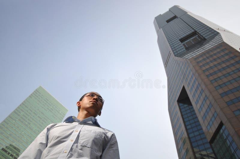 структура зданий исполнительная высокая мыжская франтовская стоковая фотография rf