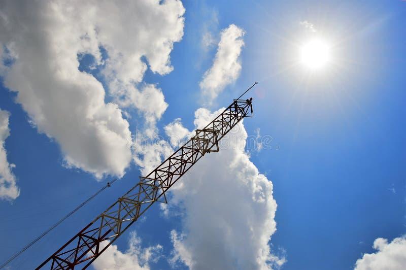 Структура и небо стоковое фото rf