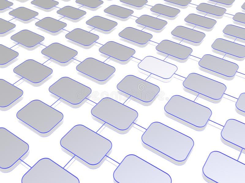 структура сети бесплатная иллюстрация
