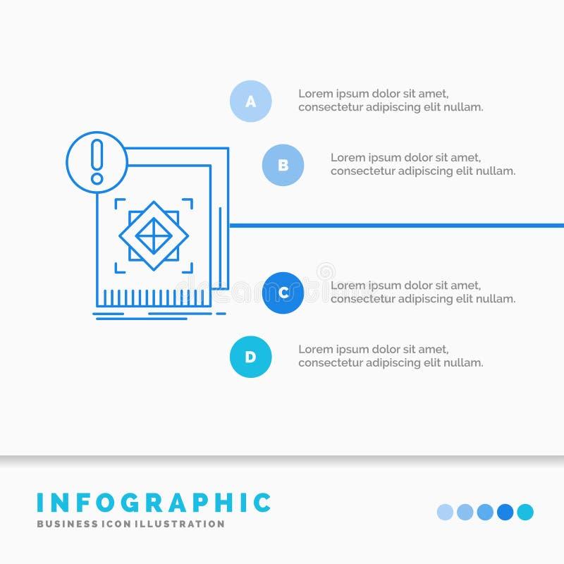 структура, стандарт, инфраструктура, информация, бдительный шаблон Infographics для вебсайта и представление r бесплатная иллюстрация