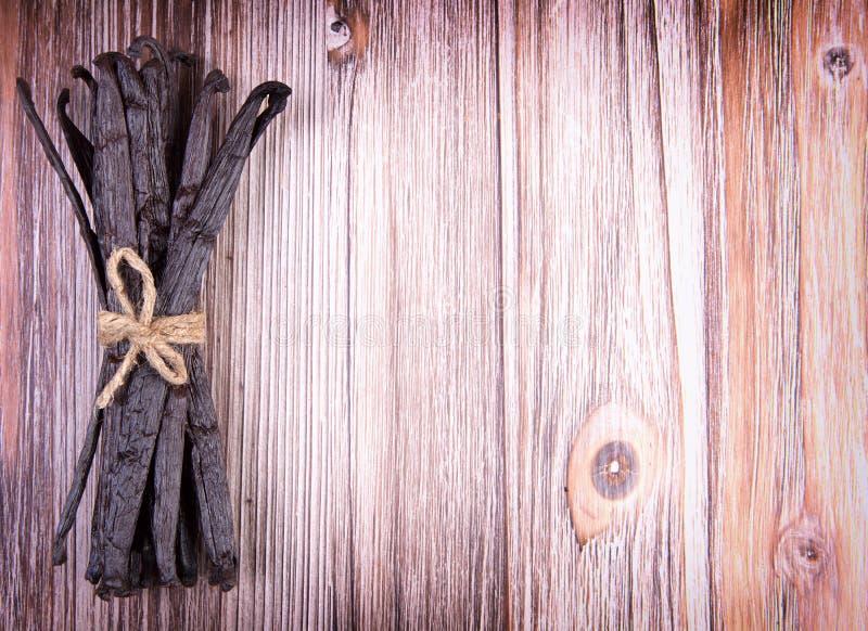 Стручки ванили стоковая фотография rf