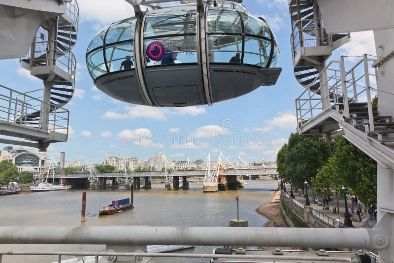 Стручок глаза Лондон стоковые изображения
