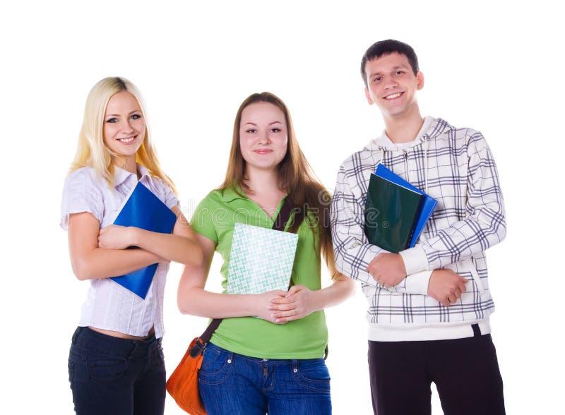 студенты группы малые стоковая фотография
