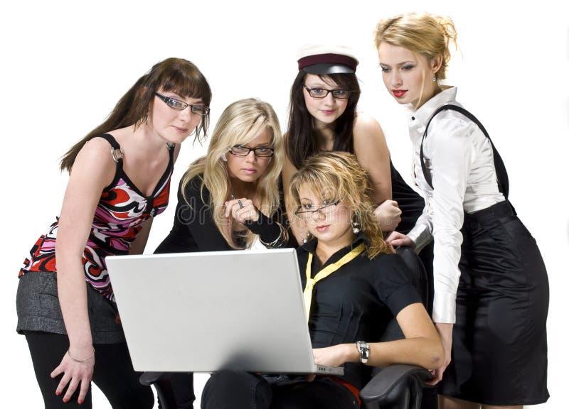 студенты стильные стоковое изображение rf