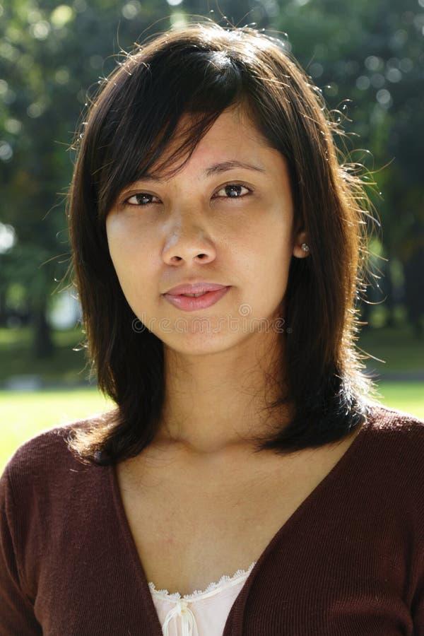 студент азиатского коллежа милый стоковая фотография