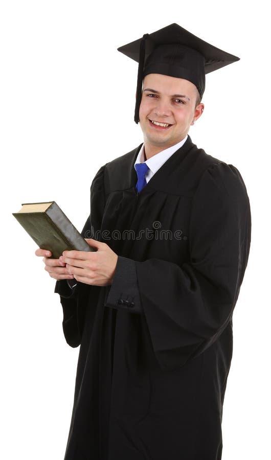 студент-выпускник книги стоковое фото