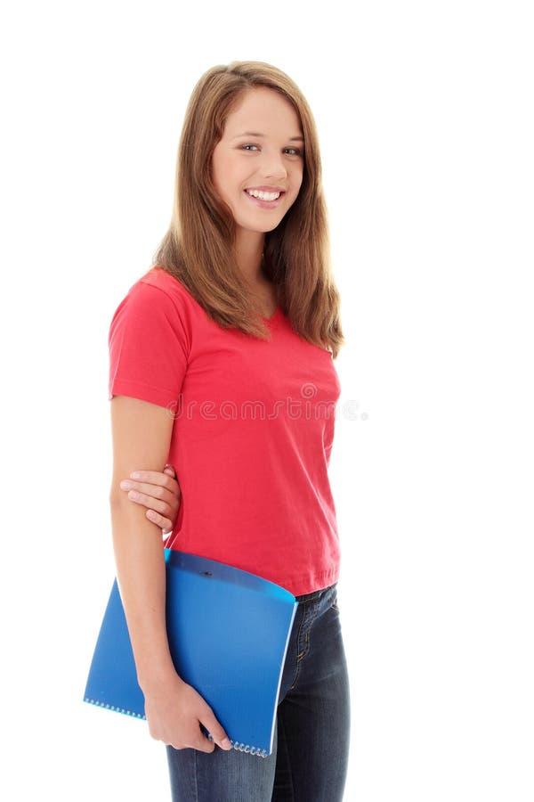 студент девушки предназначенный для подростков стоковые фото