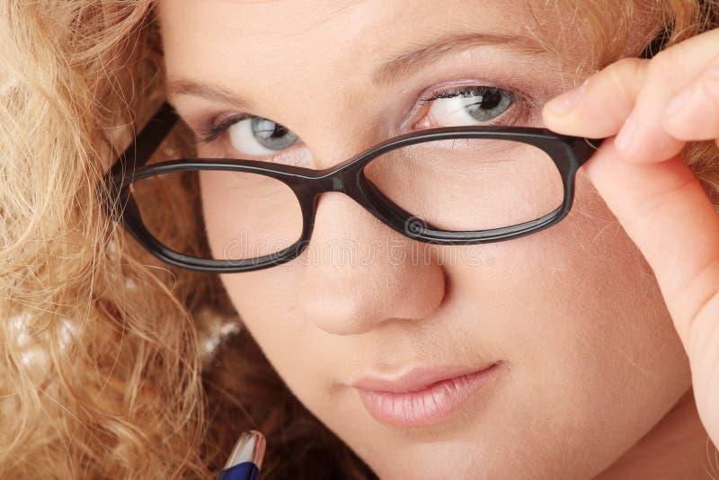 студент девушки стоковая фотография