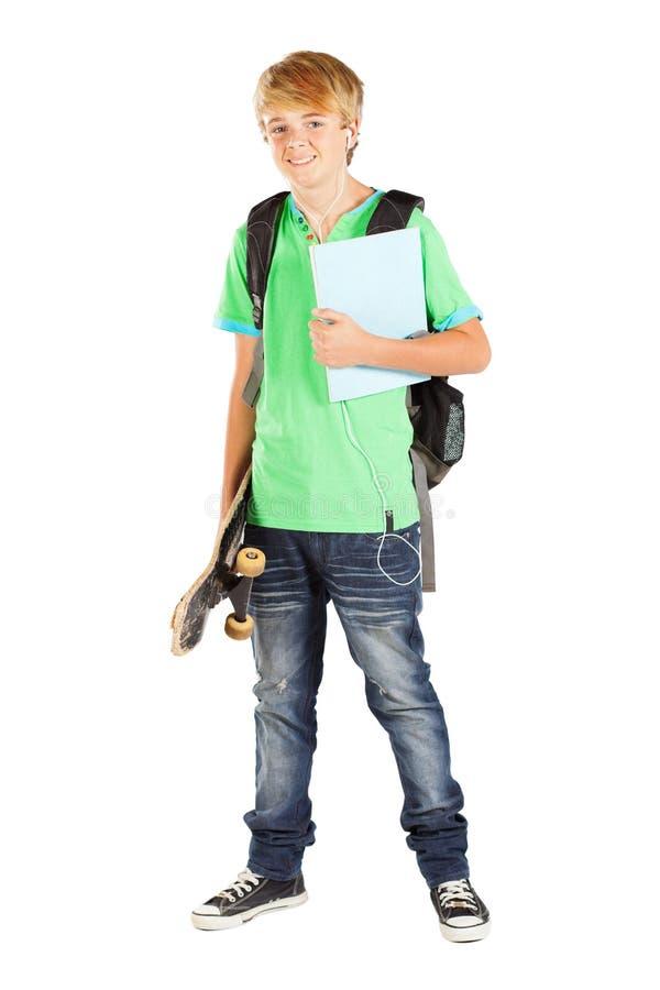 студент предназначенный для подростков стоковое изображение rf