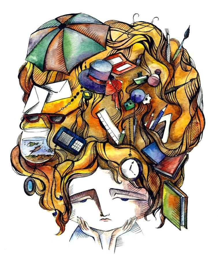 Студент иллюстрация штока