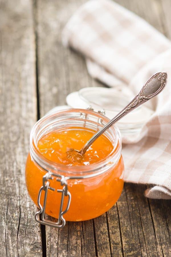 Студень варенья абрикоса стоковое фото rf