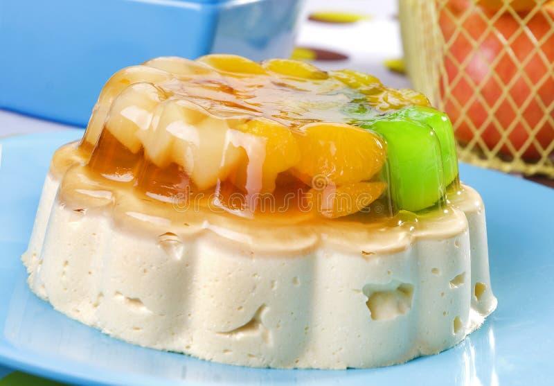студень плодоовощ десерта стоковое изображение rf