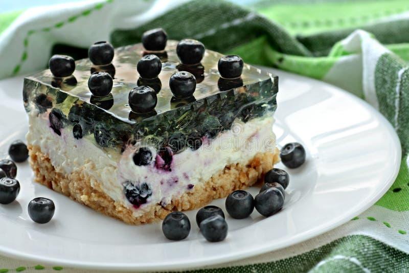 студень cheesecake стоковые фото
