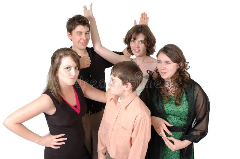 студжи предназначенные для подростков стоковая фотография