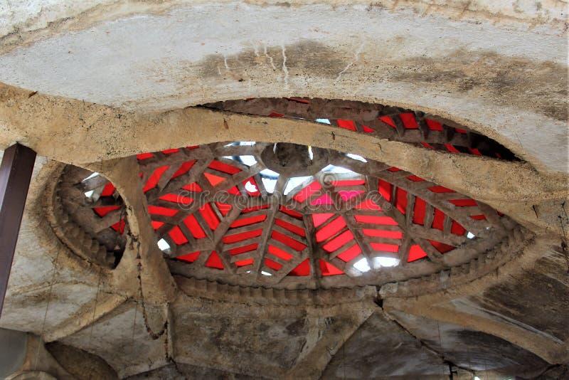 Студии Cosanti Paolo Soleri, долина Scottsdale Аризона рая, Соединенные Штаты стоковое фото rf