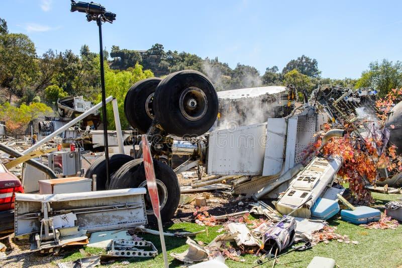 Студии Universal Hollywood Park, Лос-Анджелес, США стоковое изображение rf