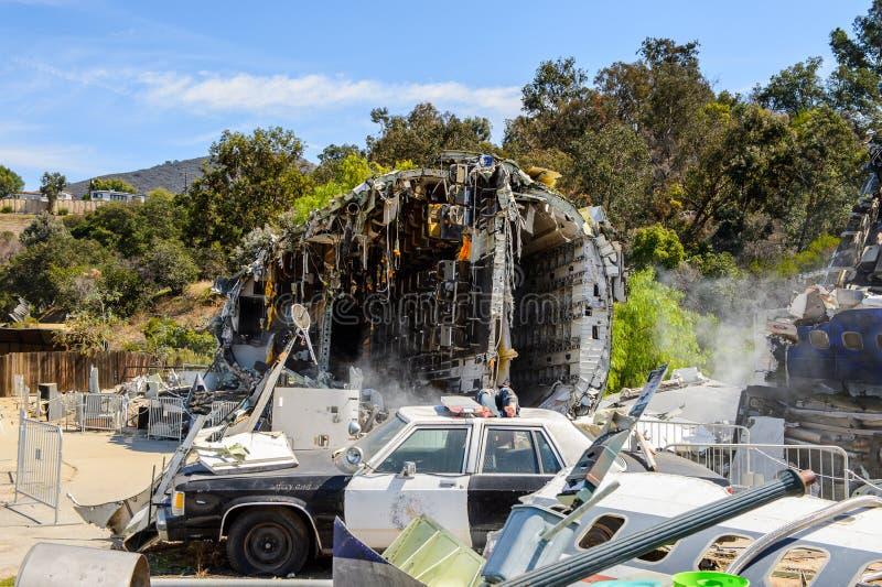 Студии Universal Hollywood Park, Лос-Анджелес, США стоковые фото
