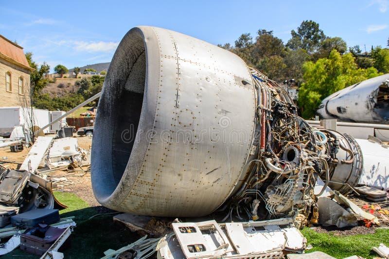 Студии Universal Hollywood Park, Лос-Анджелес, США стоковые изображения