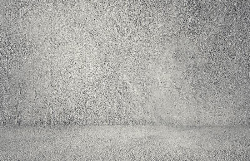 Студийный зал с текстурой бетонного бетона Пластера для дизайна интерьера и отображения продукции стоковые фото