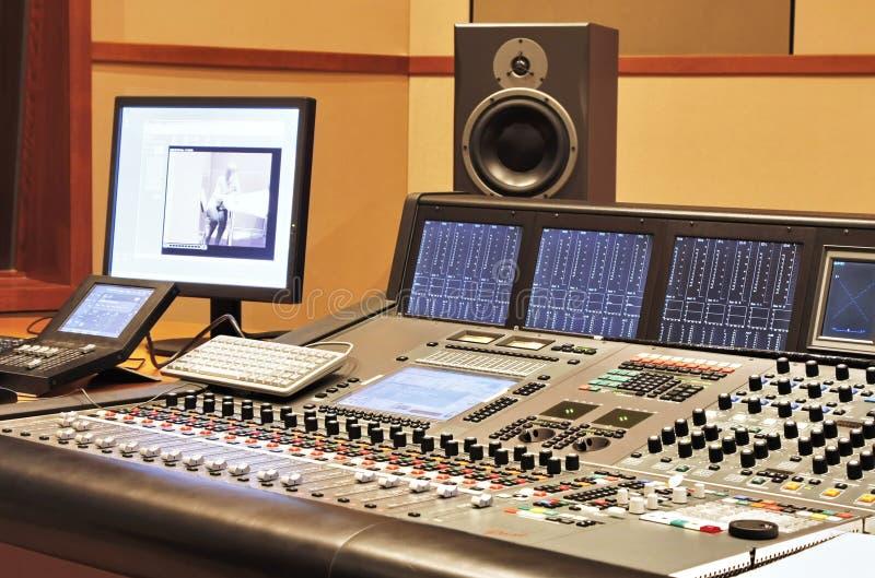 студия звукозаписи стоковые изображения