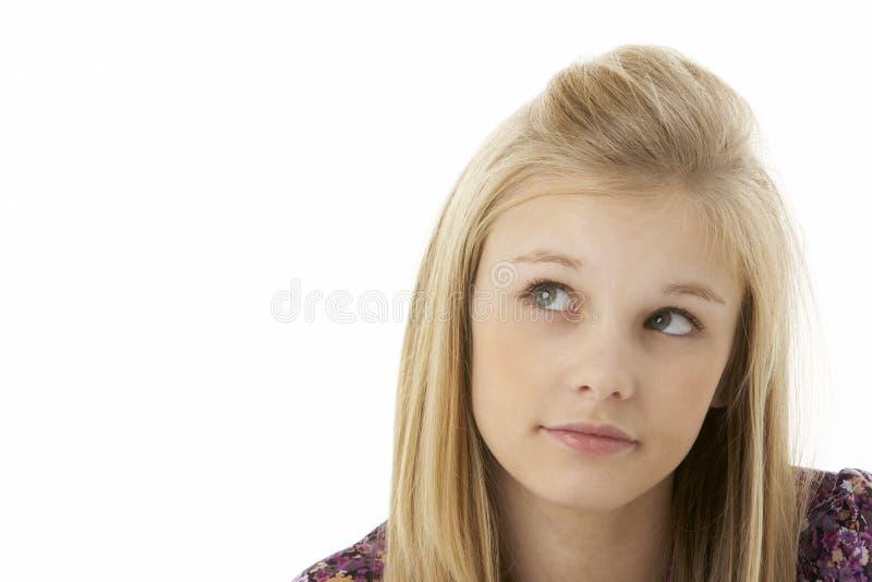 студия портрета девушки подростковая стоковое изображение