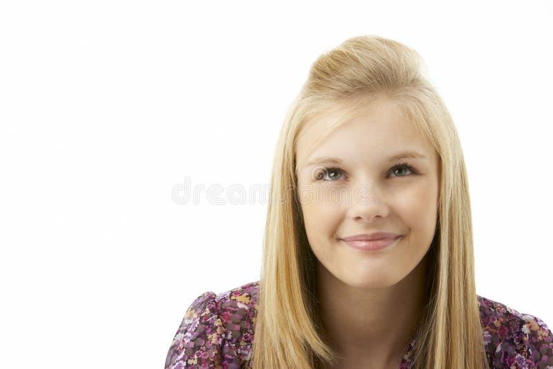 студия портрета девушки подростковая стоковые фотографии rf