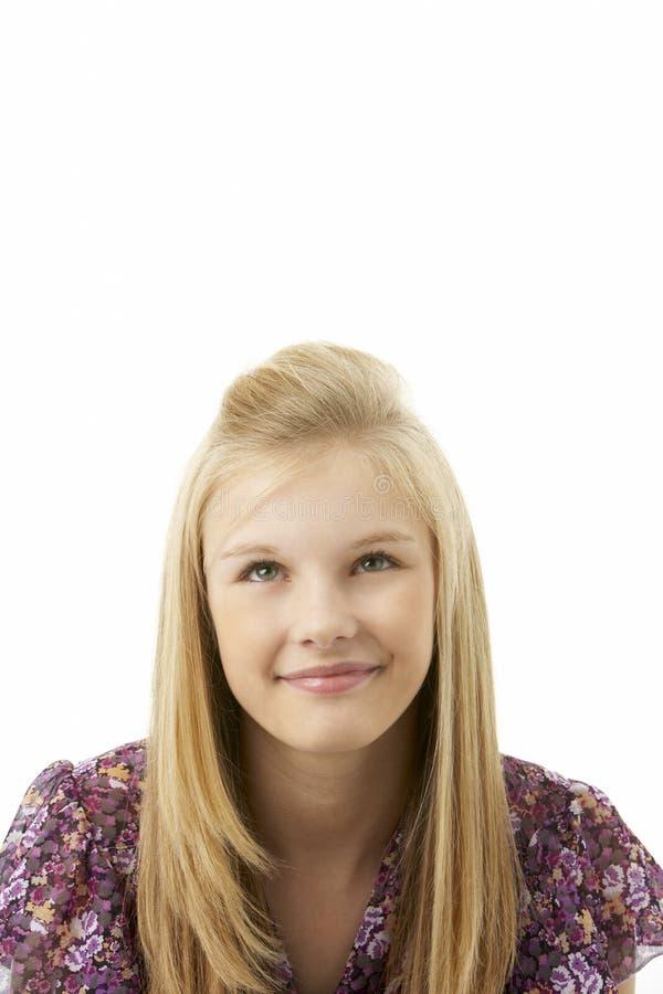студия портрета девушки подростковая стоковая фотография