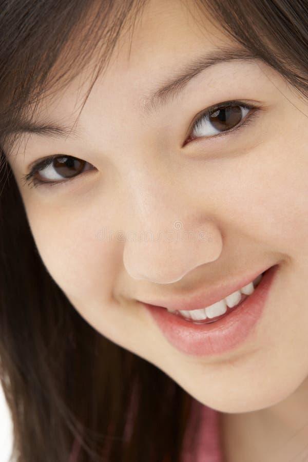 студия портрета девушки ся подростковая стоковое фото rf