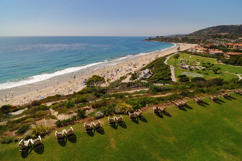 стулы пляжа laguna стоковое изображение rf