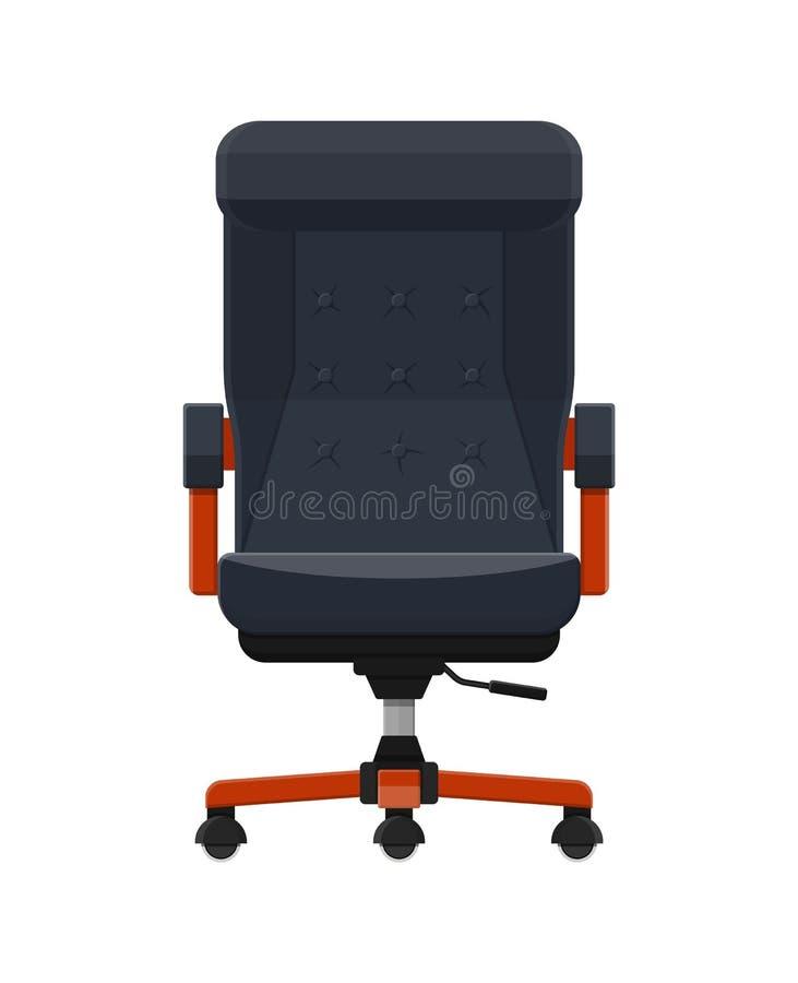 Стул босса или главного исполнительного директора armchair leather royal бесплатная иллюстрация