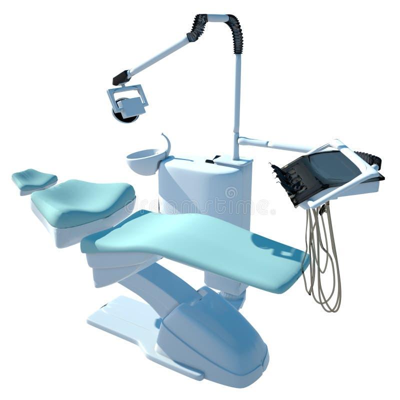 стул зубоврачебный иллюстрация вектора