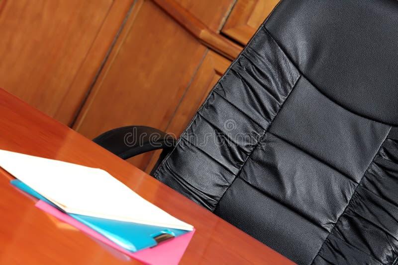 стул комнаты правления стоковое фото rf