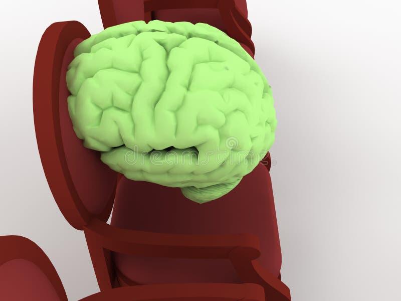 стул мозга бесплатная иллюстрация