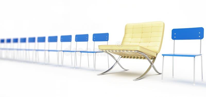 стул предводительствует самомоднейший номер просто бесплатная иллюстрация