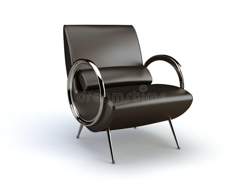стул стильный иллюстрация вектора