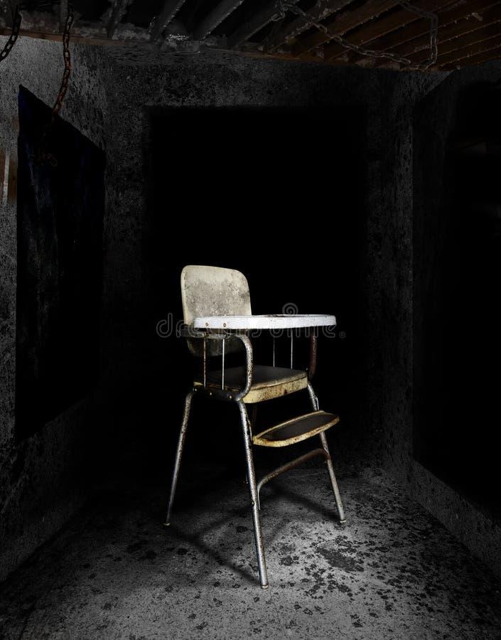 стул высокий стоковые фотографии rf