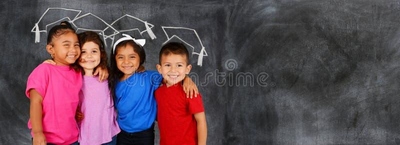 Студенты на школе стоковые фото