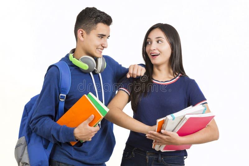 Студенты средней школы стоковая фотография rf