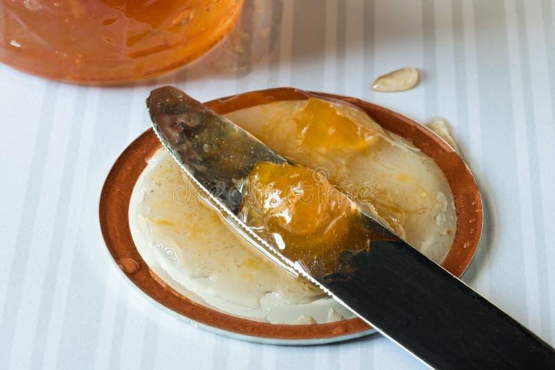 Студень абрикоса стоковые изображения
