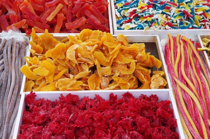студень плодоовощ конфет цветастый стоковая фотография rf