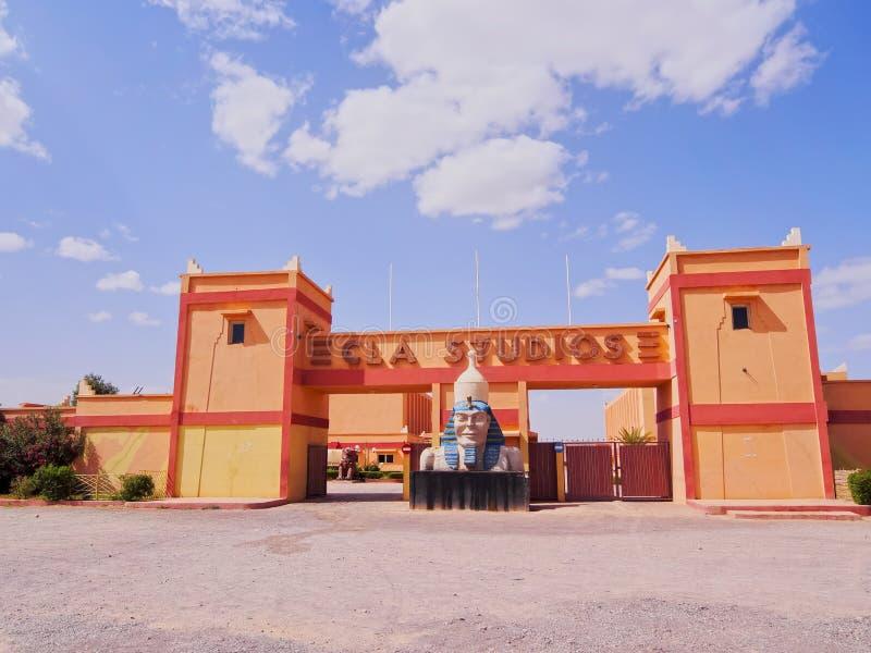 Студии CLA в Ouarzazate, Марокко стоковые фотографии rf