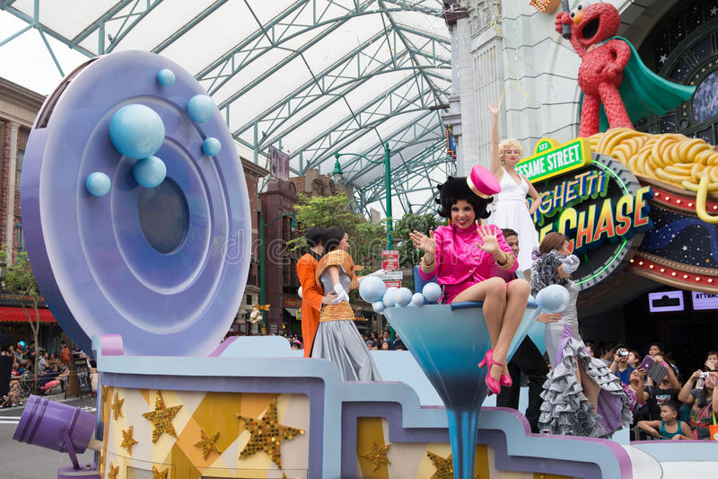 Студии Universal Сингапур стоковое фото rf
