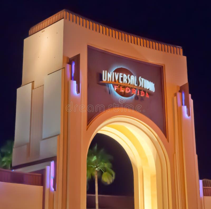 Студии Universal Флорида стоковые фотографии rf