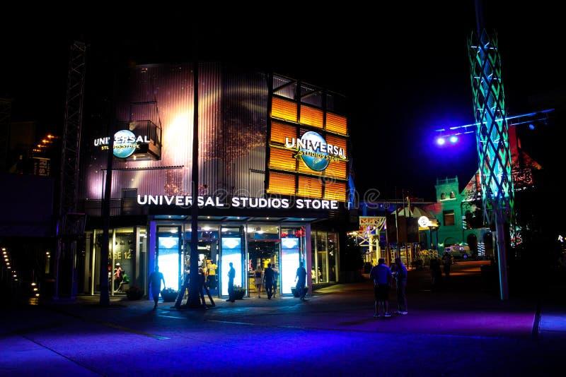 Студии Universal хранят в Орландо, Флориде стоковые изображения rf