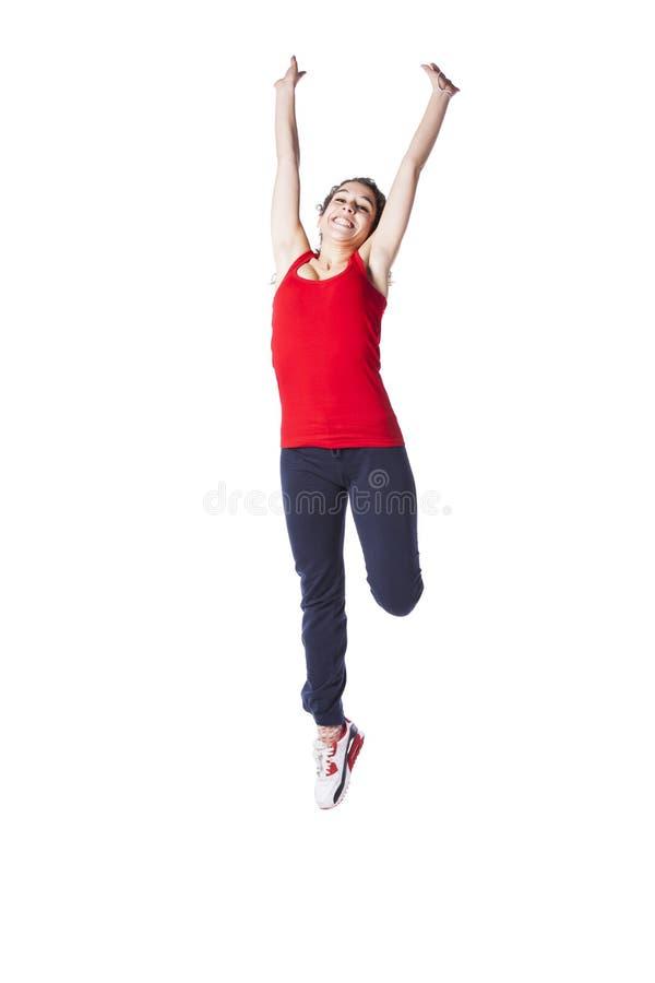 Студия женщины подростка стоковое изображение rf