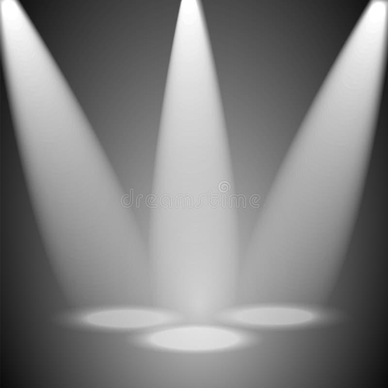 Download Студия и лучи света иллюстрация вектора. иллюстрации насчитывающей выставка - 37927516